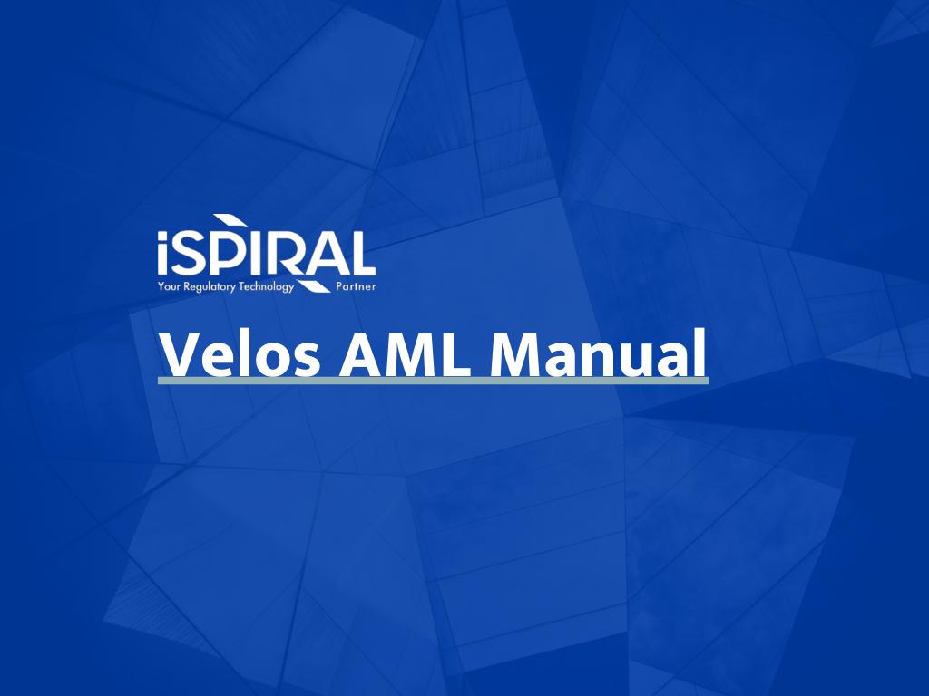Guides & Manuals_2020_Velos AML Manual