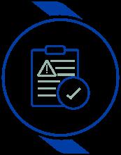 Risk Assessment Icon
