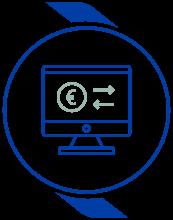 Transaction Monitoring & Screening Icon